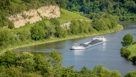 Auf der Mosel - On the Moselle River