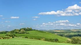 Landschaft bei Greiweldingen - Landscape near Greiveldange (L).