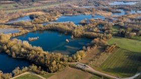 Naturreservat von oben - Nature Reserve from above