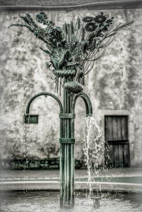 Brunnen in Greiweldingen / Fountain in Greiveldange