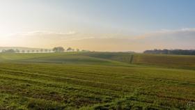 Landschaft im Osten Luxemburgs - Landscape in eastern Luxembourg