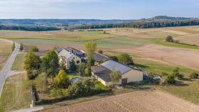 Bauernhof bei Kanach - Farm near Canach.