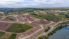 Landkonsolidierung bei Stadtbredimus - Land consolidation near Stadtbredimus