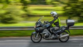 Motorradfahrer - Motorcyclist
