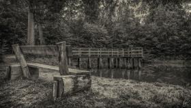 Ruheplatz am Teich - Place to rest at the pond